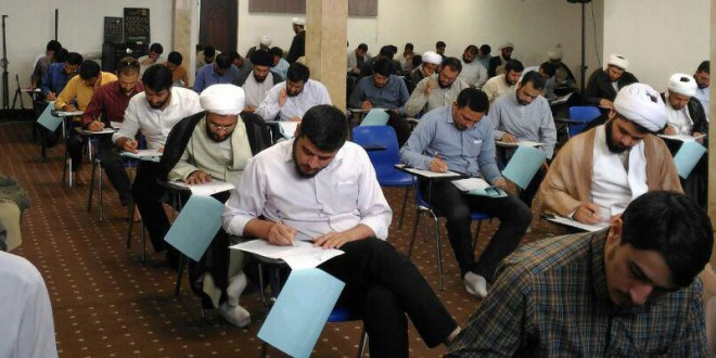 گزارش تصویری آزمون ورودی جامعه المرتضی علیه السلام در خرداد ۱۳۹۵
