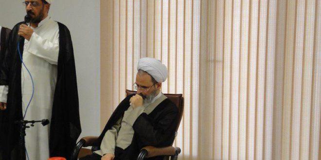 گزارش تصویری حضور رئیس جامعه المصطفی در جامعه المرتضی علیه السلام