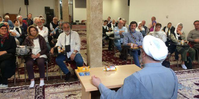حضور اعضای مرکز فرهنگی آرتفیچو Arteficio رمِ ایتالیا در جامعه المرتضی (ع)