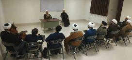 دیدار مدیر و معاون محترم مؤسسه بین المللی المرتضی علیه السلام از شعبه مشهد