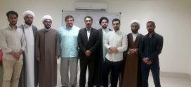 حضور رهیافته به تشیع جناب آقای الکس سیه ماسکیویچ  در موسسه بین المللی المرتضی