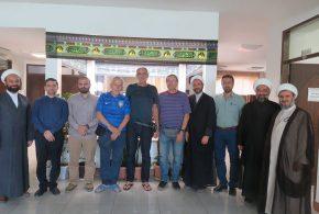 حضور جمعی از توریستهای برزیلی در موسسه بینالمللی المرتضی